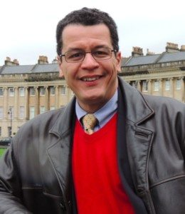 Alix Paultre, editorial director, Power Systems Design (on a visit to Bath)