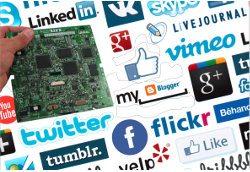 semiconductor industry social media