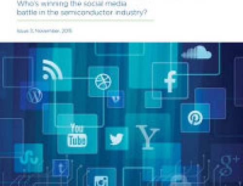 Who's winning the social media battle in the semiconductor industry? 2015 white paper reveals all.
