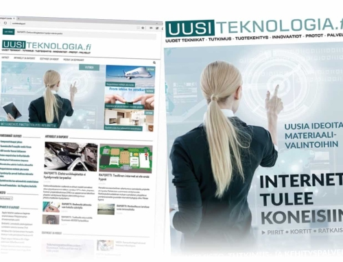 New B2B electronics and tech magazine and website for Finland
